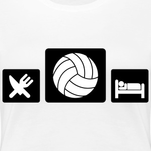 Eat Volleyball Sleep T-Shirts - Women's Premium T-Shirt