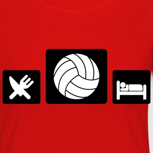 Eat Volleyball Sleep Manches longues - T-shirt manches longues Premium Femme