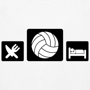 Eat Volleyball Sleep Manches longues - T-shirt manches longues Premium Enfant