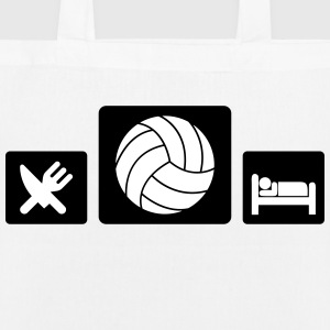 Eat Volleyball Sleep Borse & zaini - Borsa ecologica in tessuto