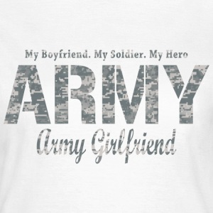 ARMY Girlfriend DIGITAL C T-Shirts - Frauen T-Shirt