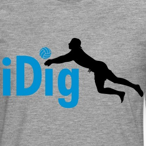 Volleyball: iDig Long sleeve shirts - Men's Premium Longsleeve Shirt