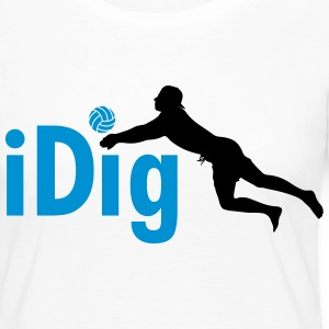 Volleyball: iDig Manches longues - T-shirt manches longues Premium Femme