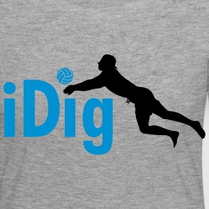 Volleyball: iDig Long Sleeve Shirts - Women's Premium Longsleeve Shirt