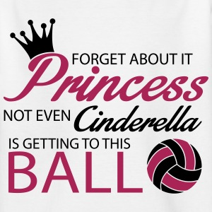Not even Cinderella is getting to this ball! Magliette - Maglietta per ragazzi
