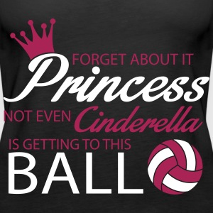 Not even Cinderella is getting to this ball! Tops - Women's Premium Tank Top