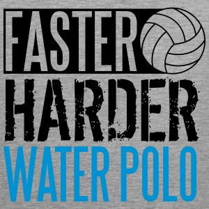 Faster, harder, water polo Tank Tops - Herre Premium tanktop