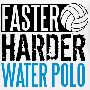 Faster, harder, water polo Tops - Frauen Premium Tank Top