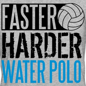 Faster, harder, water polo T-shirts - Organic damer