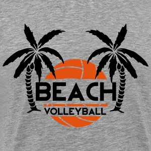 Beach Volleyball T-Shirts - Männer Premium T-Shirt