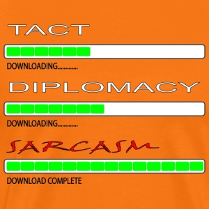 Tact and Diplomacy - Men's Premium T-Shirt