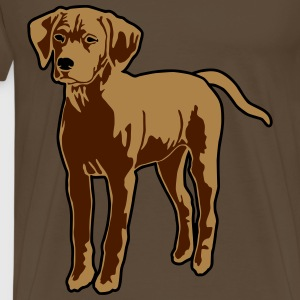 Dog Puppy T-Shirts - Men's Premium T-Shirt