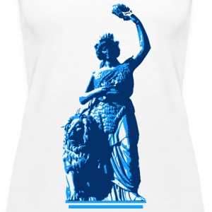 Bavaria - Blau Tops - Frauen Premium Tank Top