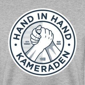 Hand in hand kameraden  - Mannen sweater