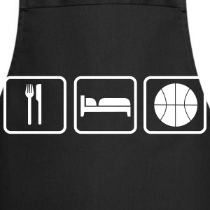Eat Sleep Basketball Grembiuli - Grembiule da cucina