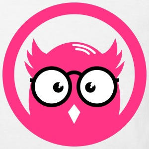 OWL with glasses in the district Shirts - Kids' Organic T-shirt