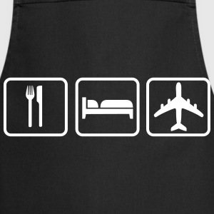 Eat Sleep Fly  Aprons - Cooking Apron