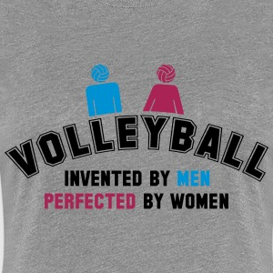 Volleyball: invented by men, perfected by women T-Shirts - Women's Premium T-Shirt