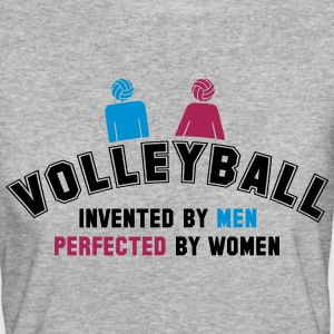 Volleyball: invented by men, perfected by women T-shirts - Vrouwen Bio-T-shirt