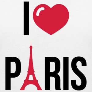 I love Paris T-Shirts - Women's V-Neck T-Shirt