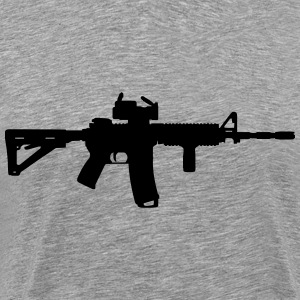 M4 - Assault Rifle T-Shirts - Men's Premium T-Shirt