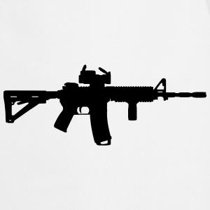 M4 - Assault Rifle Kookschorten - Keukenschort
