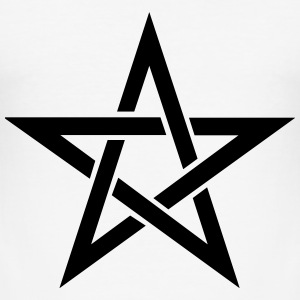 Pentagram T-skjorter - Slim Fit T-skjorte for menn