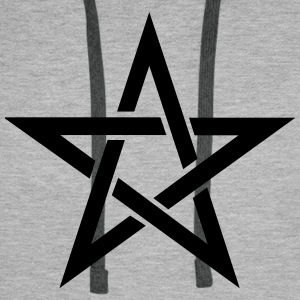 Pentagram Sweat-shirts - Sweat-shirt à capuche Premium pour hommes