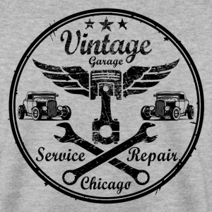vintage repair service 02 Sweat-shirts - Sweat-shirt Homme