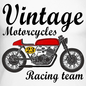 motorcycles vintage team Manches longues - T-shirt baseball manches longues Homme