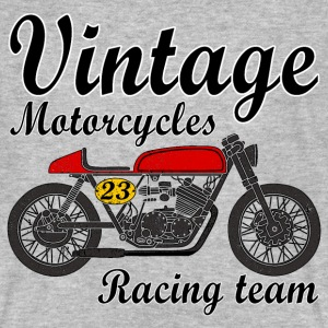 motorcycles vintage team T-Shirts - Men's Organic T-shirt