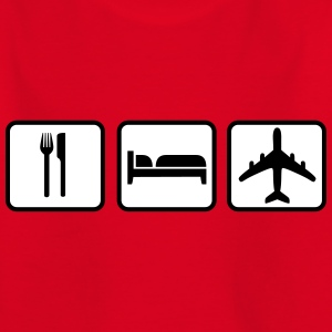 Eat Sleep Fly T-Shirts - Kinder T-Shirt