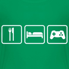 Eat Sleep Game T-shirts