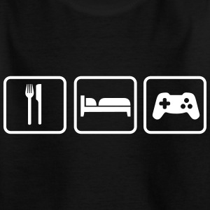 Eat Sleep Game T-shirts - T-shirt barn