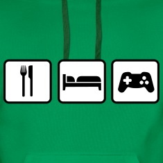 Eat Sleep Game Sweatshirts