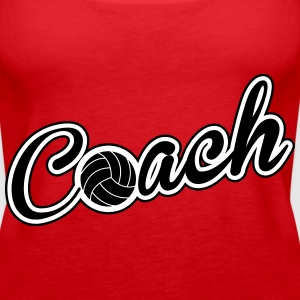 Volleyball Coach Tops - Frauen Premium Tank Top