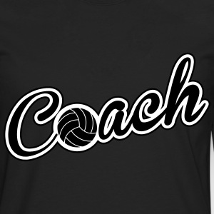 Volleyball Coach Long sleeve shirts - Men's Premium Longsleeve Shirt