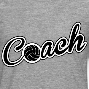 Volleyball Coach Manches longues - T-shirt manches longues Premium Homme