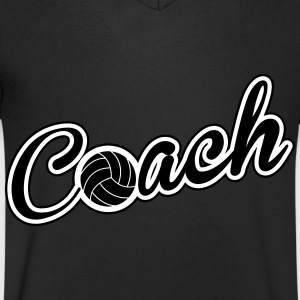 Volleyball Coach Tee shirts - T-shirt Homme col V