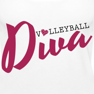 Volleyball Diva Topper - Premium singlet for kvinner
