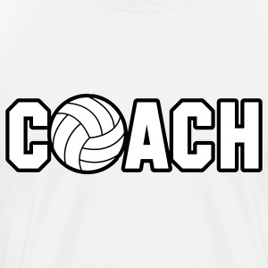 Volleyball Coach T-shirts - Mannen Premium T-shirt
