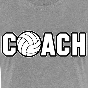 Volleyball Coach T-Shirts - Women's Premium T-Shirt