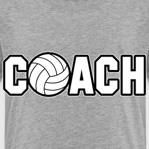 Volleyball Coach Shirts - Kids' Premium T-Shirt