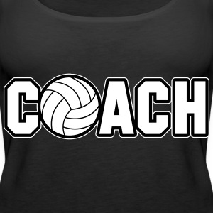 Volleyball Coach Toppe - Dame Premium tanktop