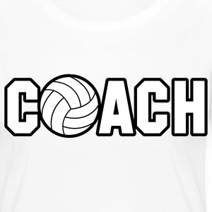 Volleyball Coach Manches longues - T-shirt manches longues Premium Femme