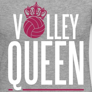 Volleyball Queen Long Sleeve Shirts - Women's Premium Longsleeve Shirt