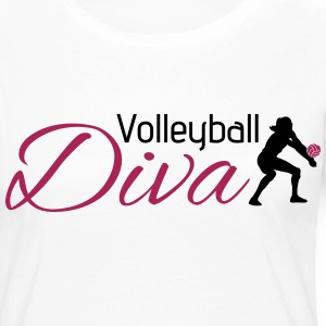 Volleyball Diva Manches longues - T-shirt manches longues Premium Femme