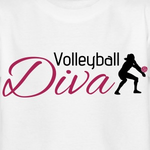 Volleyball Diva T-Shirts - Kinder T-Shirt