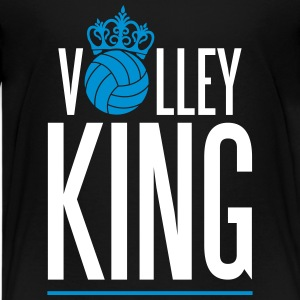 Volleyball King Shirts - Teenage Premium T-Shirt