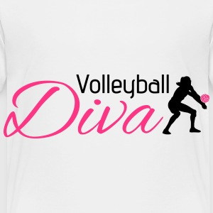 Volleyball Diva Tee shirts - T-shirt Premium Enfant